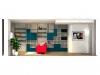 idea-progettuale-parete-soggiornolibreria